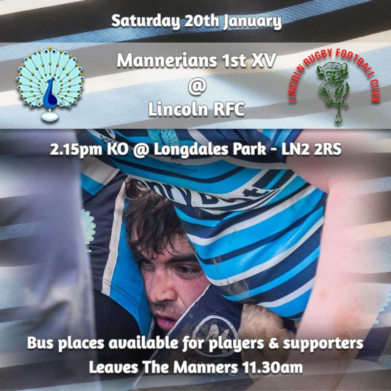 Senior Rugby Saturday 20th January