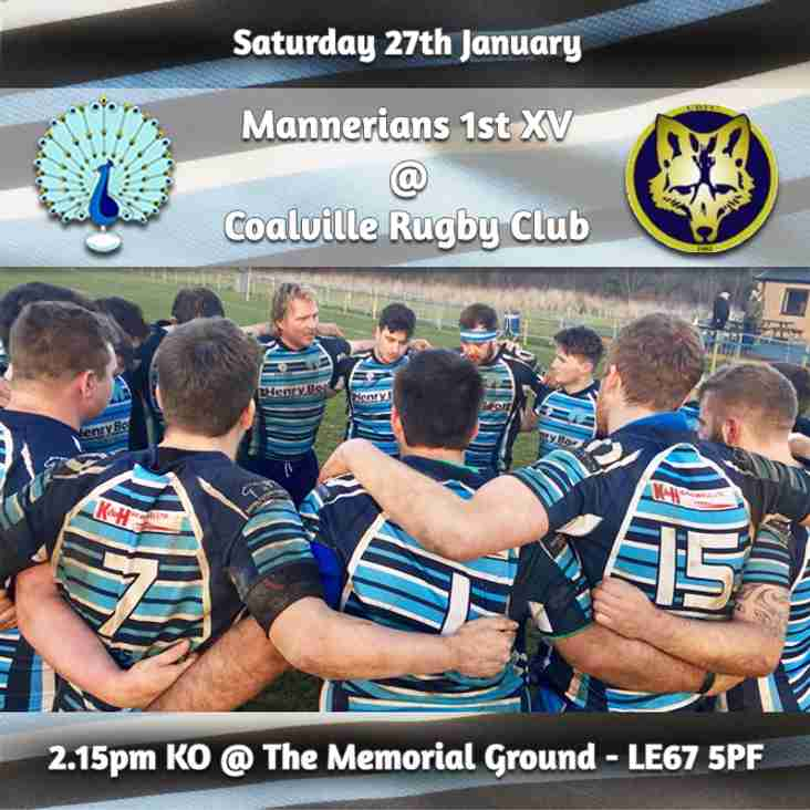 Senior Rugby Saturday 27th January