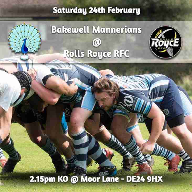 Senior Rugby Saturday 24th February