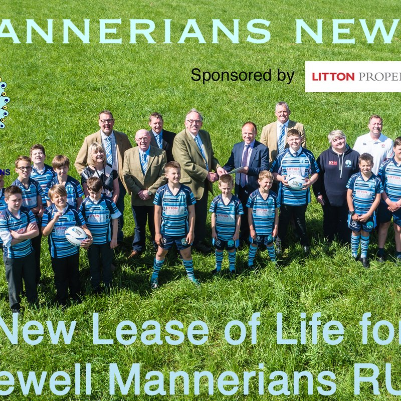 New Lease of Life for Bakewell Mannerians RUFC