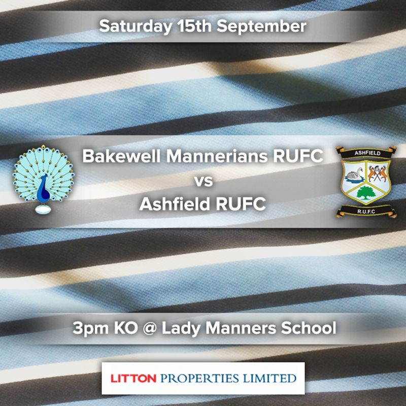 Senior Rugby Saturday 15th September