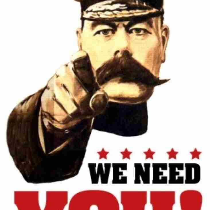 We Need You!!! Come and Support your Local Football Club!!!