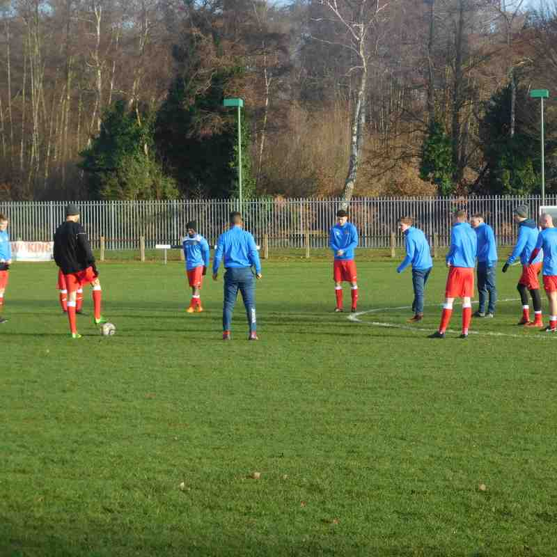 27th Dec 2016 - Sheerwater FC vs SLFC