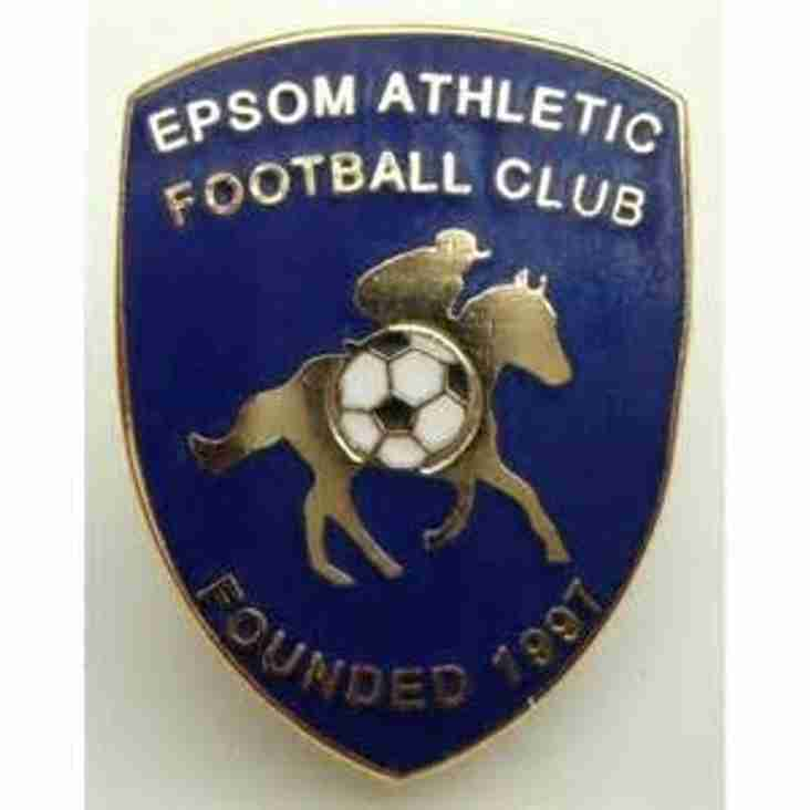 Epsom Athletic Seek friendly on Sat 15 Aug.  Also 3G Available at  Sutton UnitedSutton United