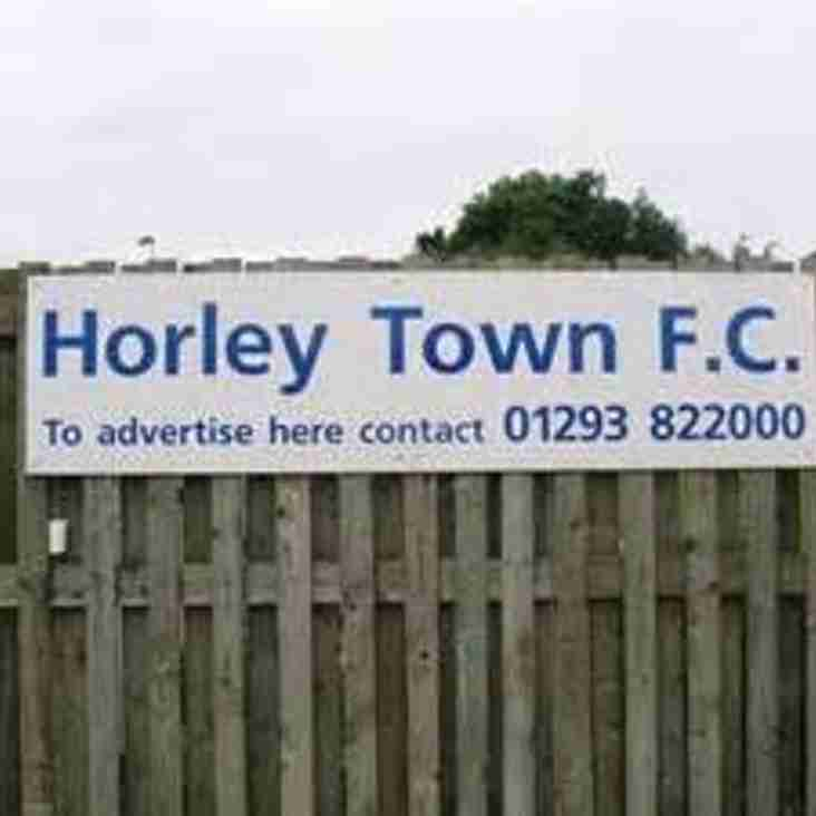 Horley & Shoreham to Donate Winnings