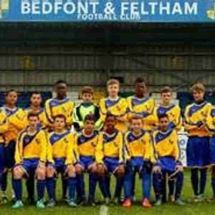 FA Cup Success for Bedfont & Feltham