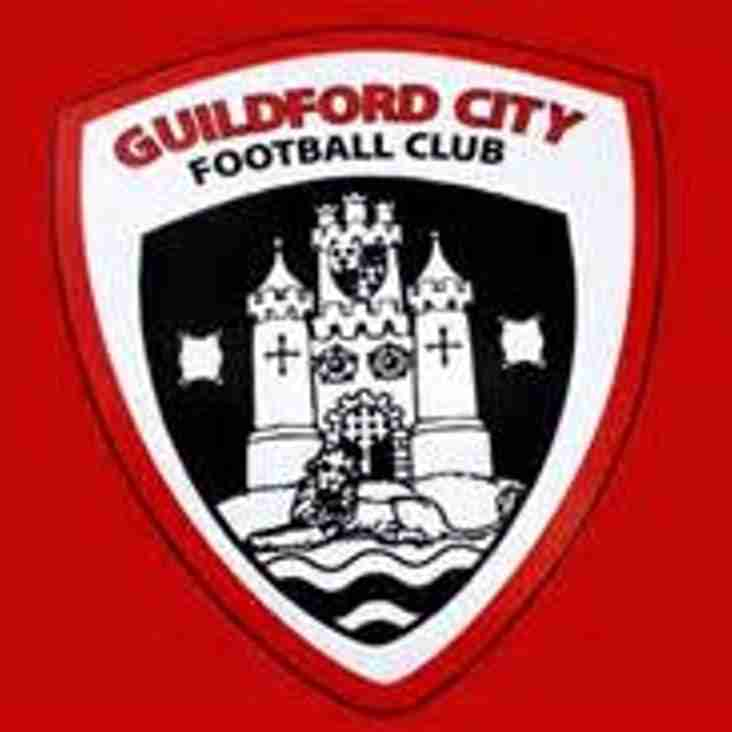Staement from Guildford City