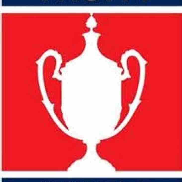 Four CCL Clubs Through to 3rd Round of the Buildbase FA Vase