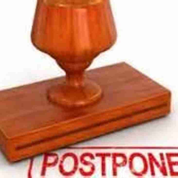 POSTPONEMENTS SAT 2 FEB
