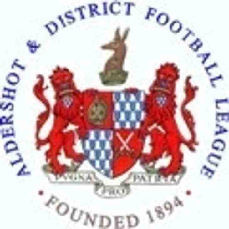 Aldershot Senior Cup - 3rd Round Draw