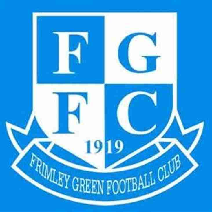 Frimley Green to set up a Development Side Next Season