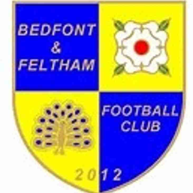 Manager departs at Bedfont & Feltham