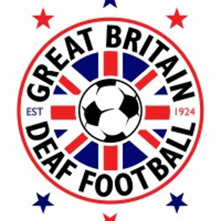 Bedfont & Feltham to play Great Britain Deaf Team