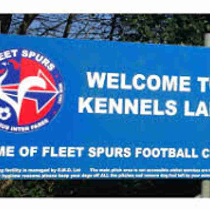 Vacancy at Fleet Spurs