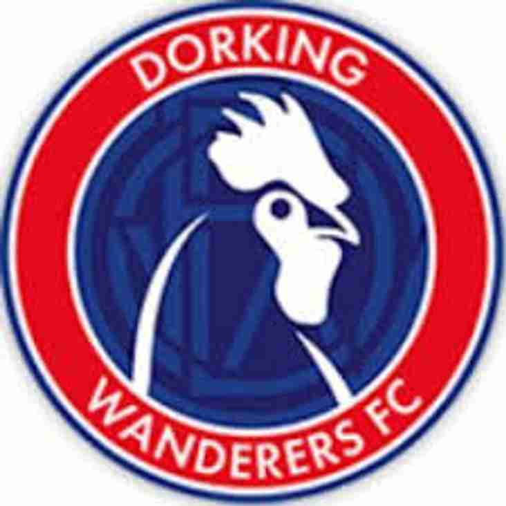 Message from Dorking Wanderers FC