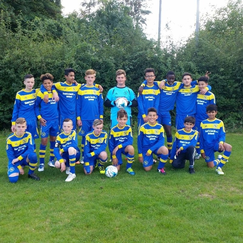 Burnham Junior Football Club 3 - 3 Aylesbury Town FC