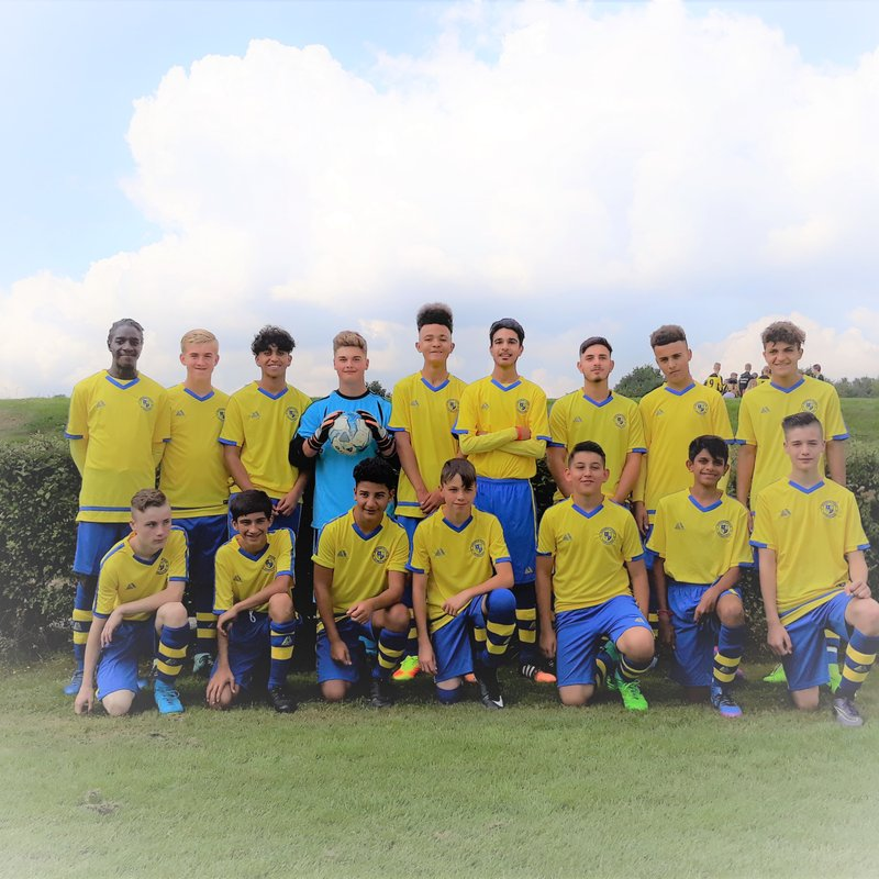 U15 Cougars Red beat Harefield Youth Reds 8 - 2