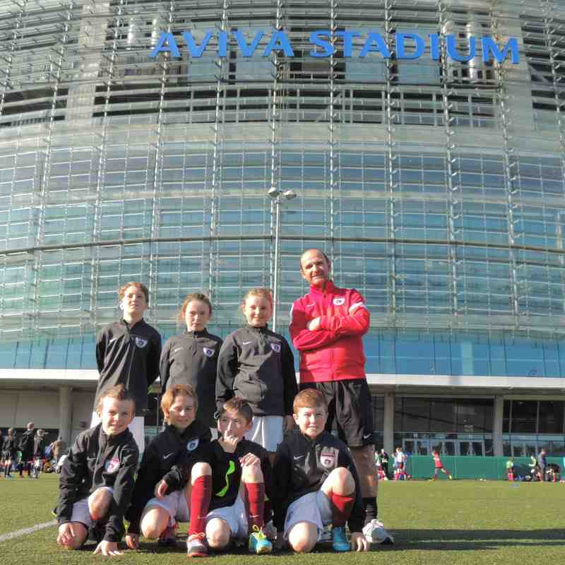 Under 10's McDonald FAI Future Football National Finals.