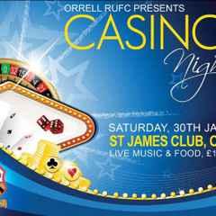 Casino Night Postponed