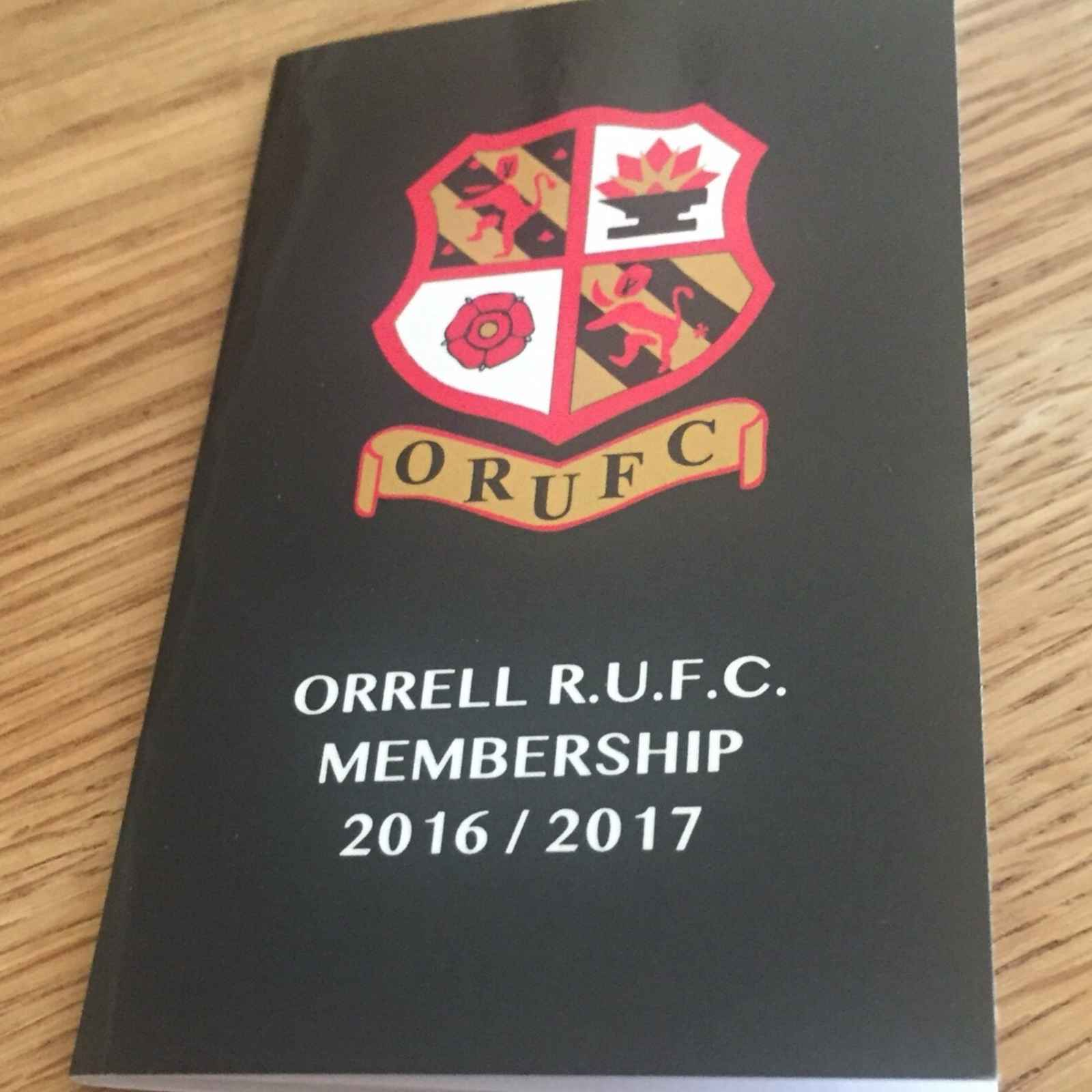 Membership books 2016/ 17