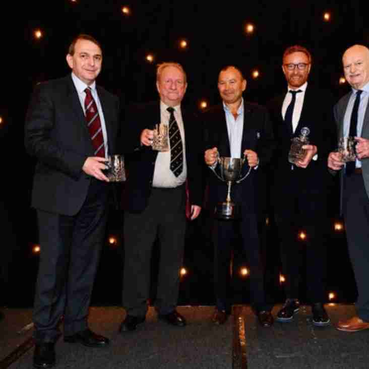 Des Seabrook honoured at Rugby Union Writers Awards