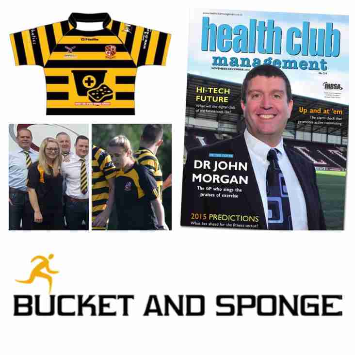 Perfect Partnership Orrell RUFC & Bucket & Sponge Medical Services