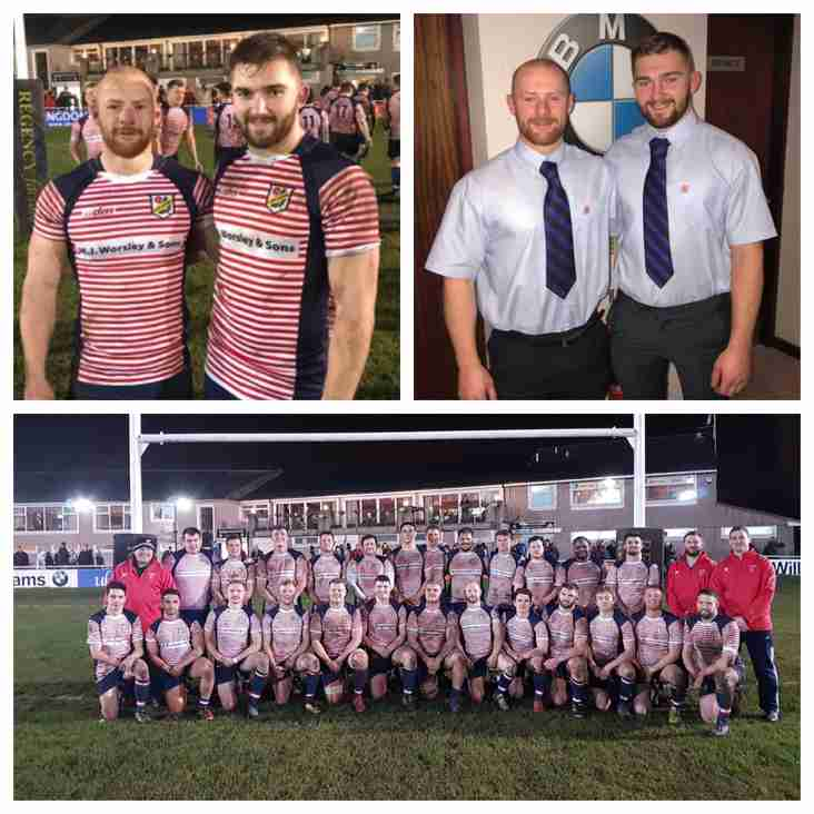 Orrell RUFC Latest County Players