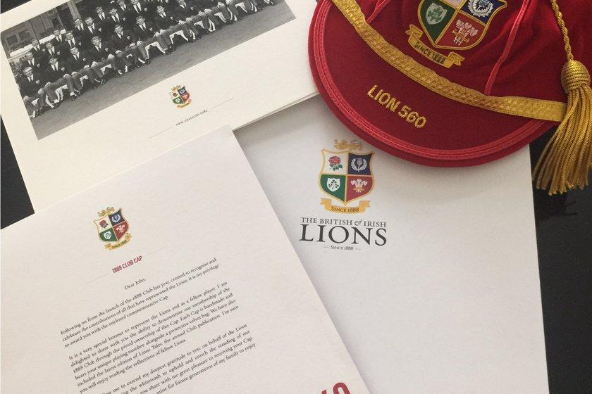 John Carleton British Lions #560