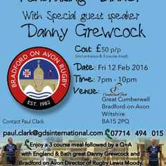 Fundraising Dinner Friday 12th February