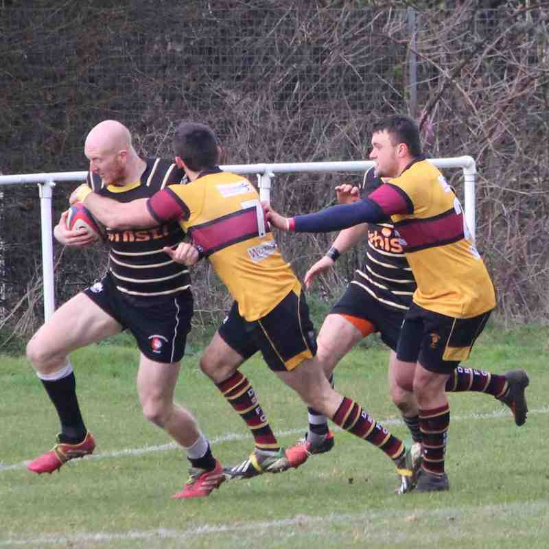 Marlow 1 v Drifters 1 28 March 2015