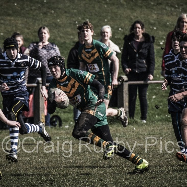 Kippax U15&#039;s vs Featherstone Lions 26th May <