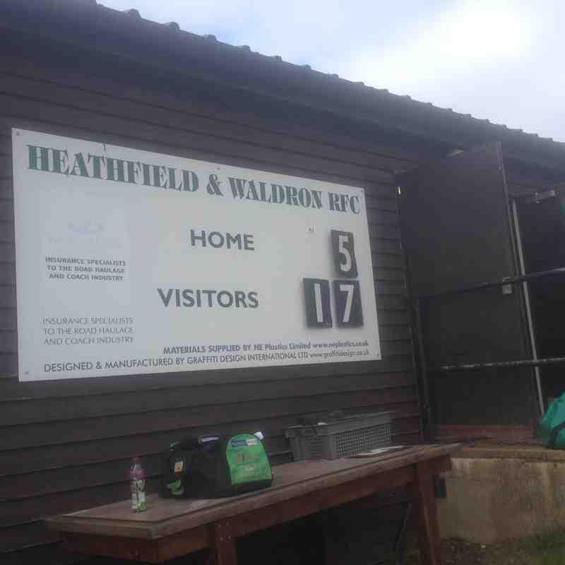 Heathfield scoreboard