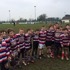 U10s after game against Barnhall