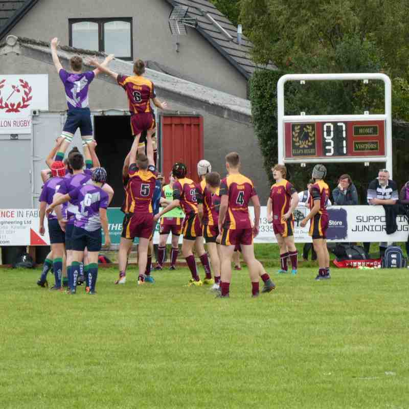 Ellon vs Granite City U16 2nd Sept 2018