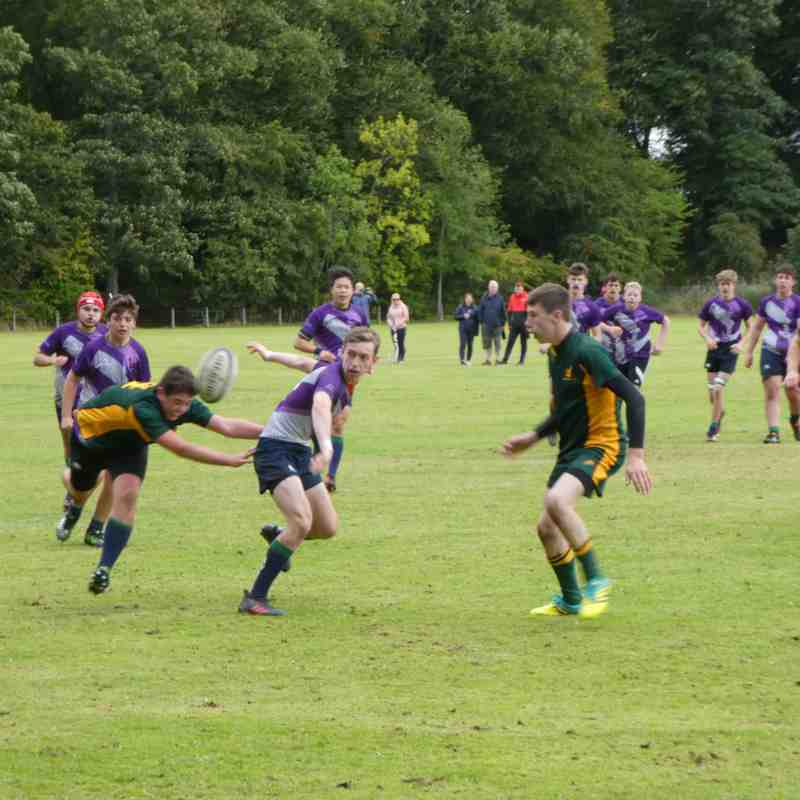 Muntly vs Granite City U16 16th Sept 2018