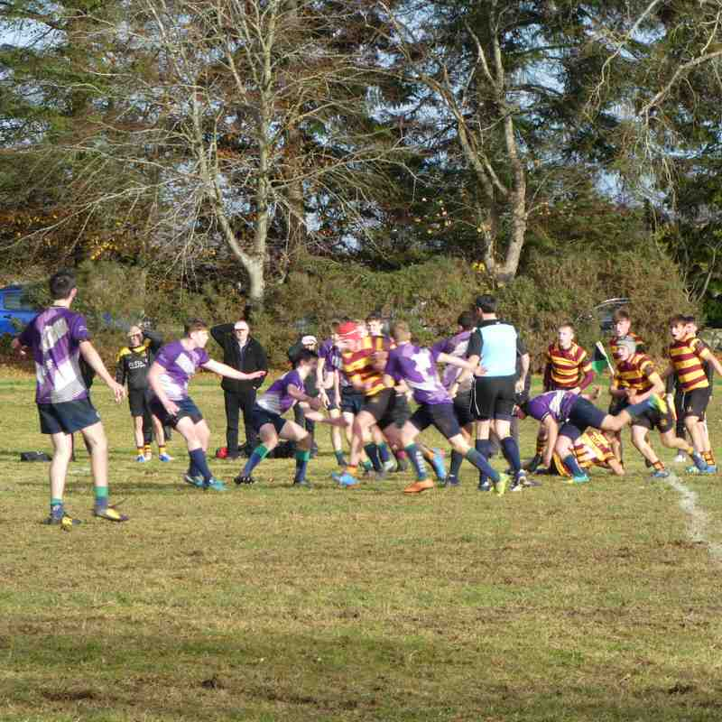 Granite City vs Ellon U16s 4th November 2018