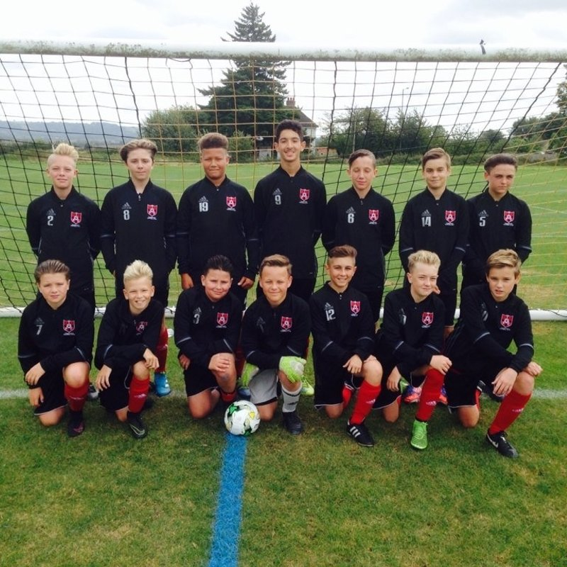 Under 14's KYL lose to Hastings United 3 - 1