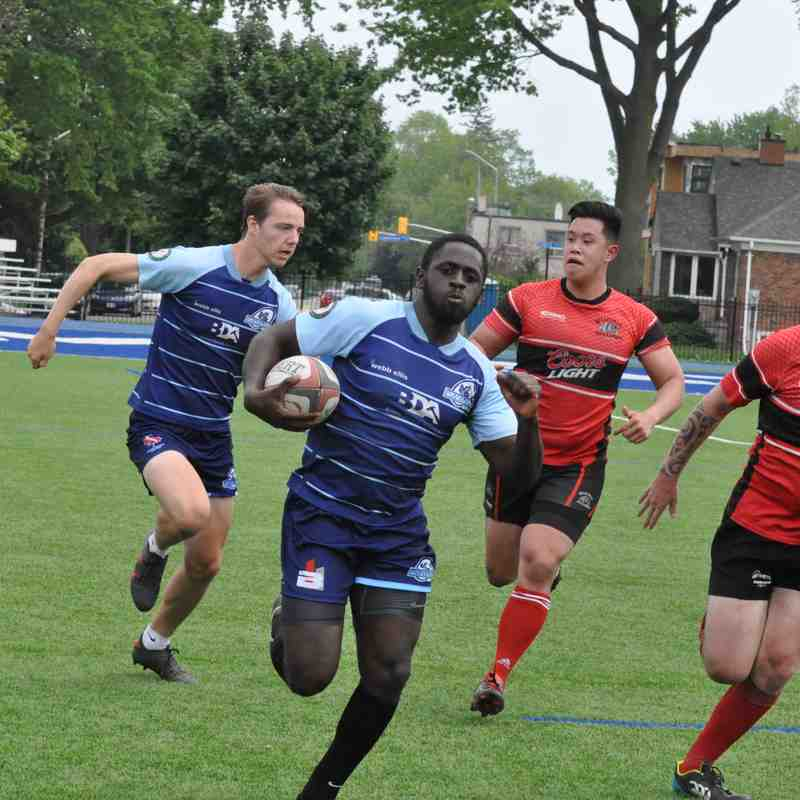 Blues Men v Belleville, May 2018