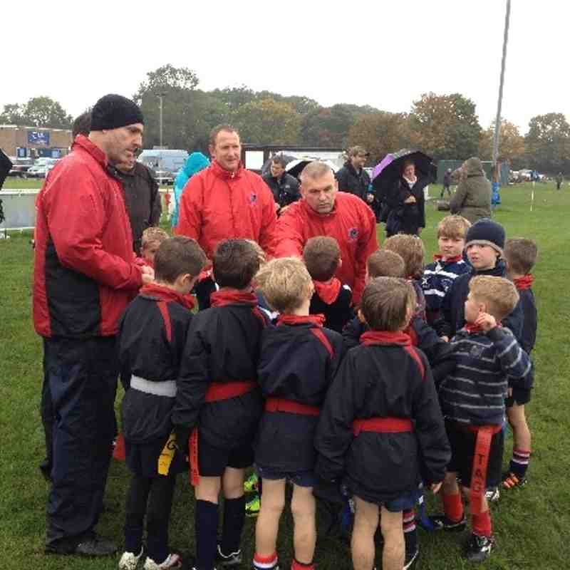 U7's play away at DK 13.10.13