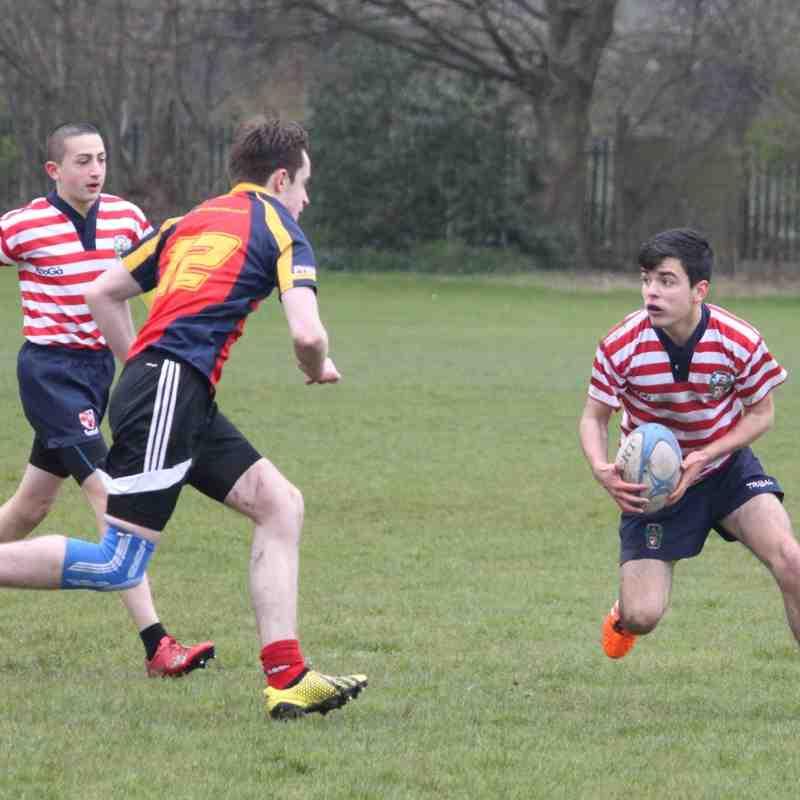 Bury v Aldwinians U16s