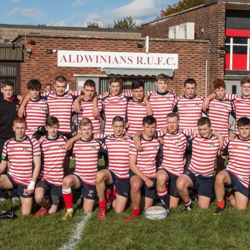 Aldwinians U17 Junior Colts advance to Raging Bull Lancashire League Trophy Final