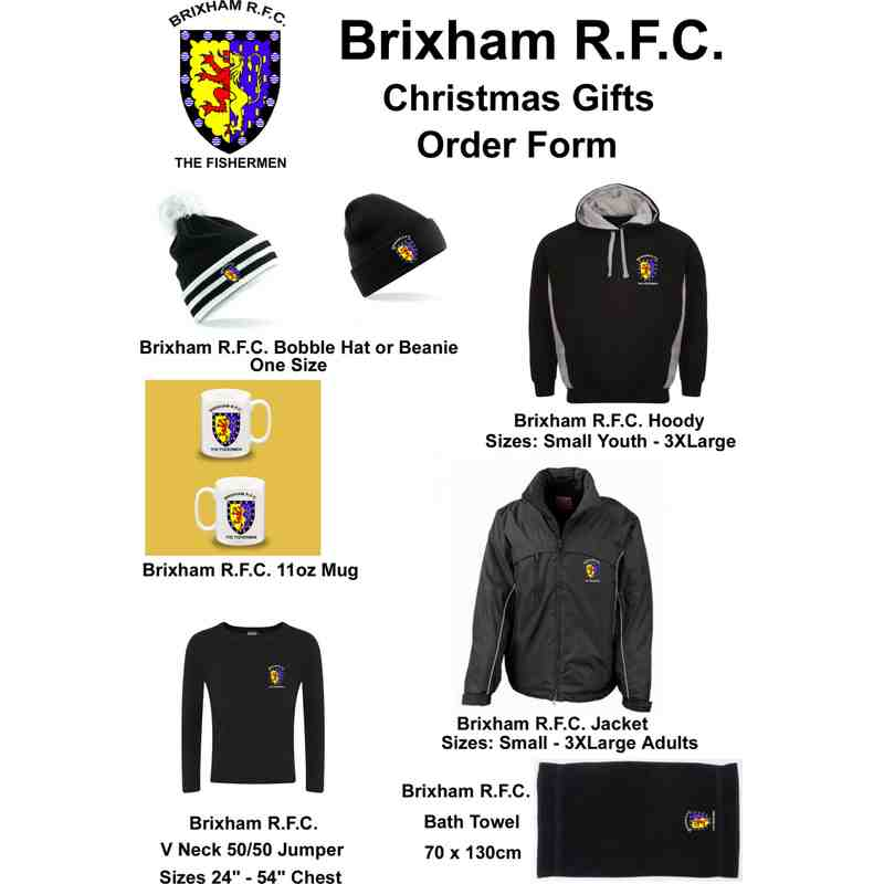 LMOB - Brixham RFC Gift Ideas