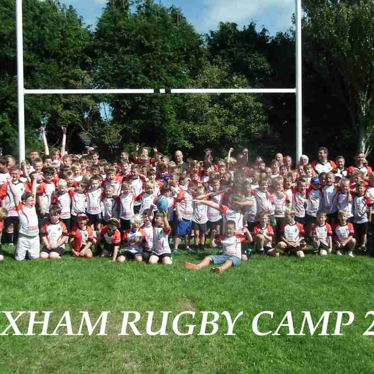 Rugby Camp 2017 - A resounding success!