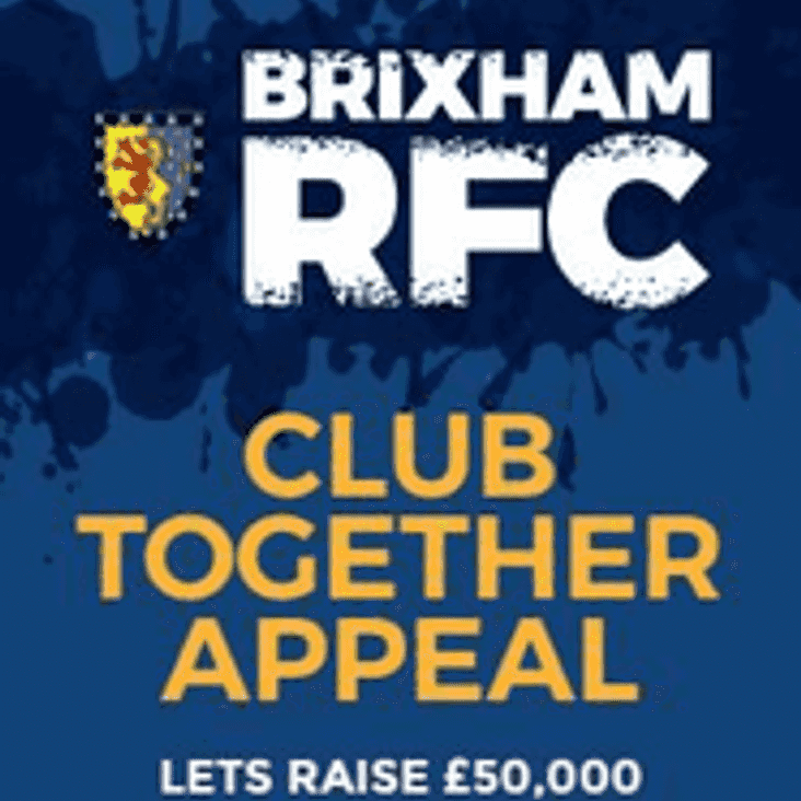 Club Together Appeal - A new and exciting way to contribute