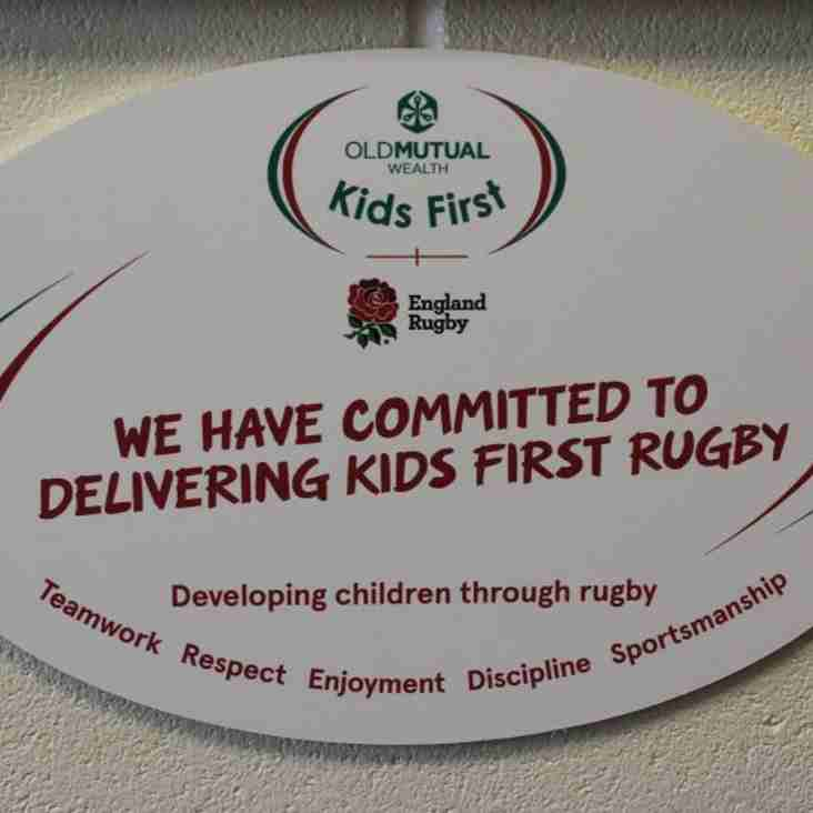 Brixham RFC makes a public pledge to PUT CHILDREN FIRST