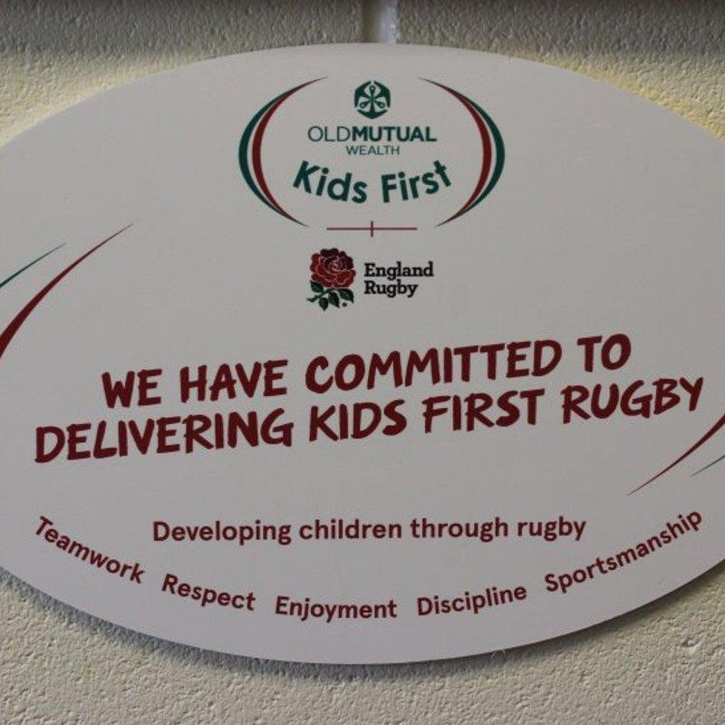 Brixham RFC makes a public pledge to PUT CHILDREN FIRST