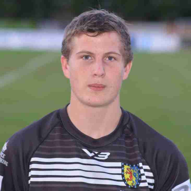 County recognition for Noah Nash - named for Cornwall RFU seniors