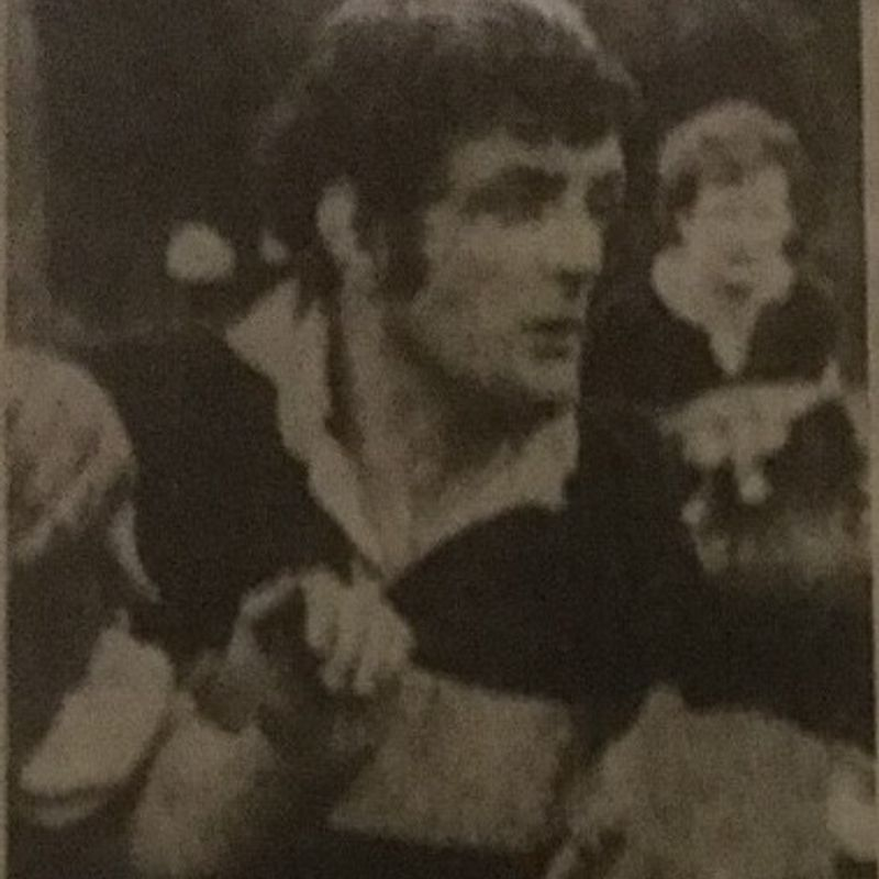 Keith Gardner - first player to be awarded a club cap 35 years ago this week