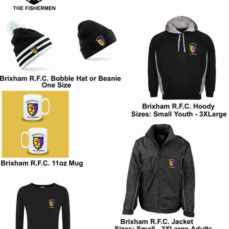 Yet more Christmas gift ideas - Brixham RFC branded items from LMOB