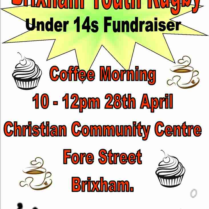 Under 14s Fundraising - Coffee Morning